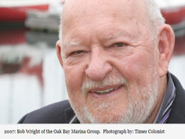 Bob Wright, founder of Oak Bay Marine Group and philanthropist, dies at 82